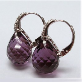 La Preciosa Amethyst Earring