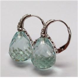 La Preciosa Aguamarine Earring