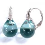 La Preciosa Blue Crystal Earring