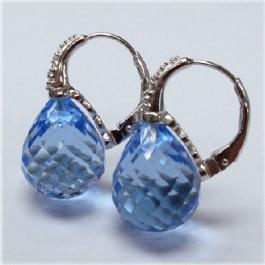 La Preciosa Blue Topaz Earring