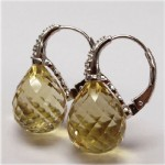 La Preciosa Lemon Quartz Earring