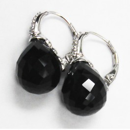 La Preciosa Black Onyx Earring