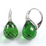 La Preciosa Peridot Quartz Earring