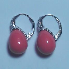 La Preciosa Pink Shell Earring