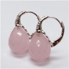 La Preciosa Rose Quartz Earring