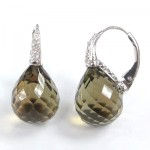 La Preciosa Smoky Quartz Earring