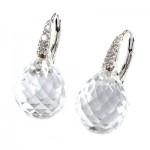 La Preciosa White Crystal Earring