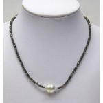 South Sea Pearl and Spinal Necklace