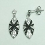 Black & White Spider Earring