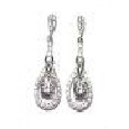 Dangle CZ Earring