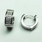 14mm Wide Huggie Earring