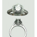 Classic I Engagement Ring