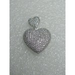 Beautiful Puff Heart Pendant